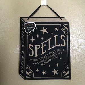 Target spells wall decor